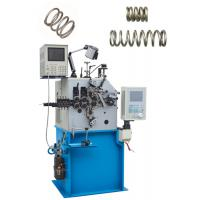 Quality Computer Belleville Spring Machine Automatic Oiling With 2.7 Kw Cam Axis Servo Motor for sale