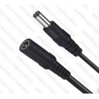 Quality Laptop DC Cable 12V DC Power Adapter Cord With 5.5*2.5MM Flat Black Red Wire for sale