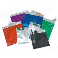 Black / White Custom Print Business Envelopes Aluminum Foil Pouches
