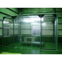China Class 100 Clean Room Booth 60 - 65dB Noise Level Dust Removal Booth ISO9001 on sale