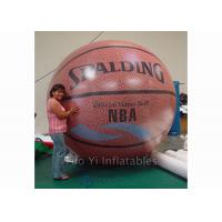 China Customized Inflatable Basketball Sports Themed Balloons Weather - Resistant on sale
