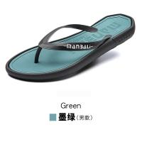 Buy Portable Mens Sports Slippers , High Stretch EVA Footbed Flip Flops at wholesale prices