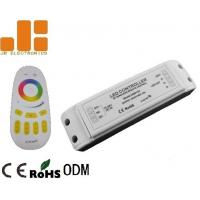 Quality Remote Control LED Strip Light Controller , RGBW LED Controller With Group Dimming Function for sale