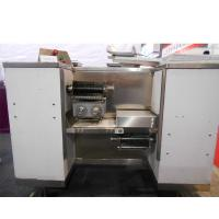 Quality 800KG/h  Floor Type Fresh Meat Cutting Machine Automatic With 3 PCS Blade Set for sale