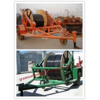 China manufacture cable-drum trailers,CABLE DRUM TRAILER, Price Cable Reel Trailer on sale