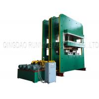 Buy cheap Electric Rubber Vulcanizing Press Machine Rubber Mats Molding Vulcanizing 800T from wholesalers