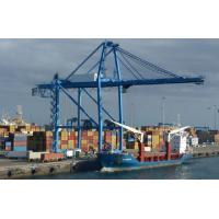 Ship To Shore Port Container Crane Strong With Lifting Winch And PLC Control System