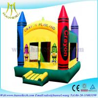 China Hansel popular funny purchase bounce house house for children on sale