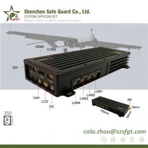 China UAV surveillance H.265 COFDM downlink transmitter on sale