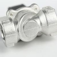 """Quality Gas solenoid shut-off valve DN15 for 1/2"""" pipe for gas pipeline with 50 Mpa aluminum body for sale"""