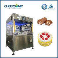Buy cheap Ultrasonic Pizza Cutting Ultrasonic Loaf Cake Slicing Machine from Wholesalers