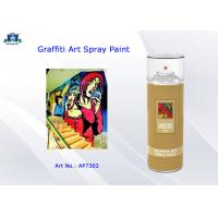 Quality Aerosol Acrylic Art Graffiti Spray Paint Cans for Artist with Normal , Fluo , Metallic Color for sale