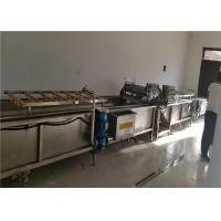 Quality Crayfish Commercial Produce Washer Cycle Surfing 304 Stainless Steel Material for sale