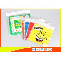 Quality Stand Up Biscuit Pe Plastic Reselable Pouches / Custom Food Grade Plastic Bags for sale