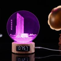 China 2018 Newest Product 5 in 1 multifunctional art atmosphere lamp 3D engraving  night light  bluetoooth speaker on sale