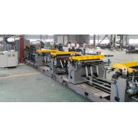 Quality High Speed Refrigerator Assembly Line For Cabinet Front And Rear Plate for sale