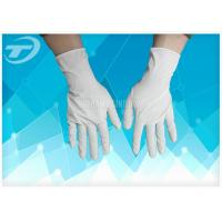 Quality Allergy Resistance Nitrile Surgical Gloves / Great Flexibility Medical Exam Gloves for sale