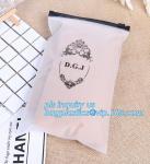 Quality Apparel Garment Clothing package PE slider zip bag, zipper ziplock packaging bags with slider zipper,pvc packaging bags for sale