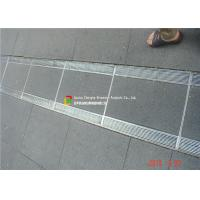 316 / 304 Stainless Steel Bar Grating High Bearing For Trench Cover