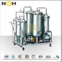 China High Oil Yield Rate Lubricating Oil Purifier For Dewater / Degas / Remove Impurities on sale