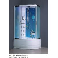 Quality Safety Complete Shower Cabins Left / Right ABS Complete Shower Room With Tray for sale