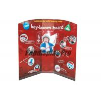 Quality Early Learning Musical Instruments Custom Standee Cardboard Point Of Sale Display Stands for sale