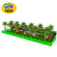 Buy cheap High Ropes Course Outdoor Play Equipment , Custom Kids Playground Equipment from wholesalers