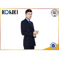 China Fashion Office Uniform Blouses For Office Wear / Business Men Suit on sale