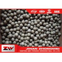 Quality Mining use high hardness hot rolling grinding steel balls / ball mill media for sale