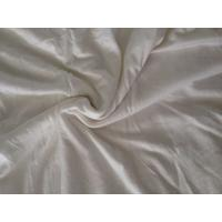 China Organic Rayon Wool Blended Stripe Single Jersey Fabric For Garment on sale