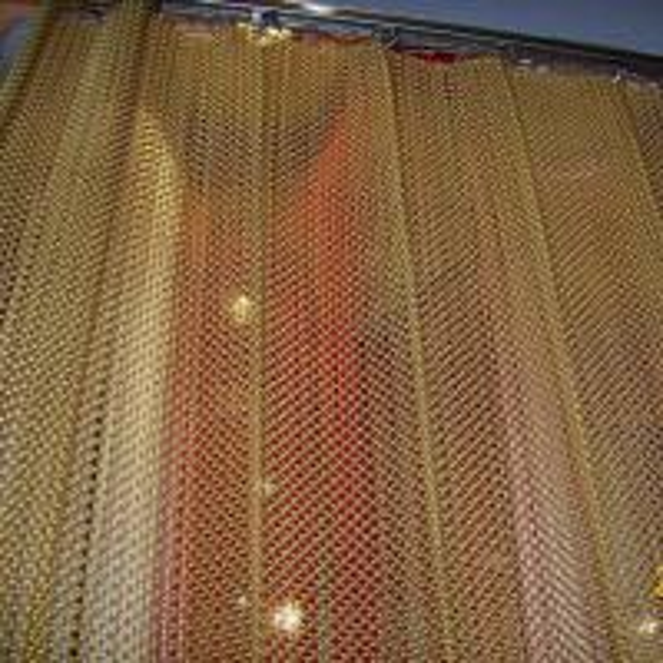 Decorative Metal Curtain Fabric For Restaurant Of Ec91094172