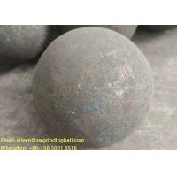 Quality B2 B3 B6 60Mn Forged steel grinding media balls for mining ball mill for sale