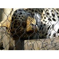 Quality 7*7 Stainless Steel Animal Enclosure Mesh , Bird Enclosure Netting For Zoo for sale