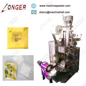China High Quality Tea Bag Packing Machine With Inner And Outer Bag,Filter Tea Bag Packing Machine For Sale on sale