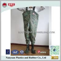 Quality PVC Cheap Long Water Proof Breathable Chest Waders Fishing Boots for sale