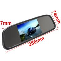 Quality Rear View Mirror Car Monitor 4.3 Inch Monitor LCD Color Screen 4.3 Inch for sale