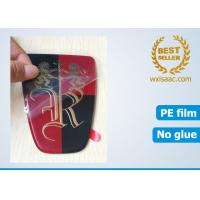 China Die cut car accessories protective film for Roewe car logos plexiglas car emblems on sale