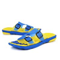 Quality Comfort Slide Mens Sports Slippers Bathroom Water Shoes Double Buckle for sale