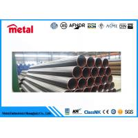China Black Low Temperature Steel Pipe Customized Length / Size Schedule 10 Thickness on sale