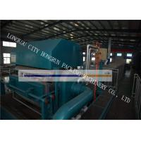 Quality High Efficiency Egg Box Making Machine , Egg Tray Production Line 100 - 400 KW for sale