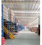 Quality Multi Layer Metal Mezzanine Racking System / Industrial Mezzanine Floor Customized Depth for sale