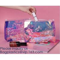 Quality Promotional EVA cosmetic pouch bag with a rubber handle,eco friendly transparent BSCI women EVA cosmetic bag, bagease for sale
