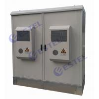 Quality Rainproof Two Compartment Base Station Cabinet Aircon Cooling IP55 For Commmunication Equipment for sale