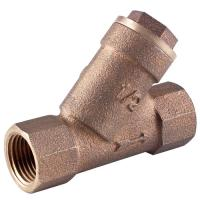 Brass strainer valve y type filter water for sale