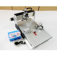 6040 CNC Router Benchtop CNC Milling Machine With Air Cooling / CNC Wood Cutting Machine for sale