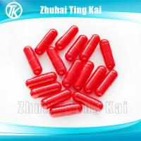 Quality All red empty hard gelatin capsules for sale