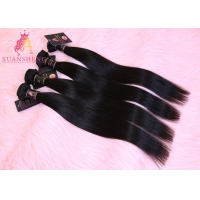 Quality Cuticle Aligned Silky 10A Malaysian Straight Hair for sale