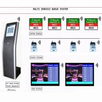 Buy cheap LCD Counter Arabic French English Multilingual Queue Management System For Bank from wholesalers