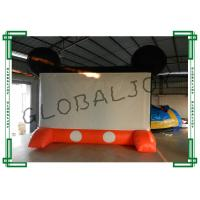 Buy cheap family large inflatable tv screen air screen for theme