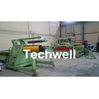 Buy cheap 3-25mm High Speed Full Automatic Cut To Length Line Sheet Metal Cutting Machine from wholesalers